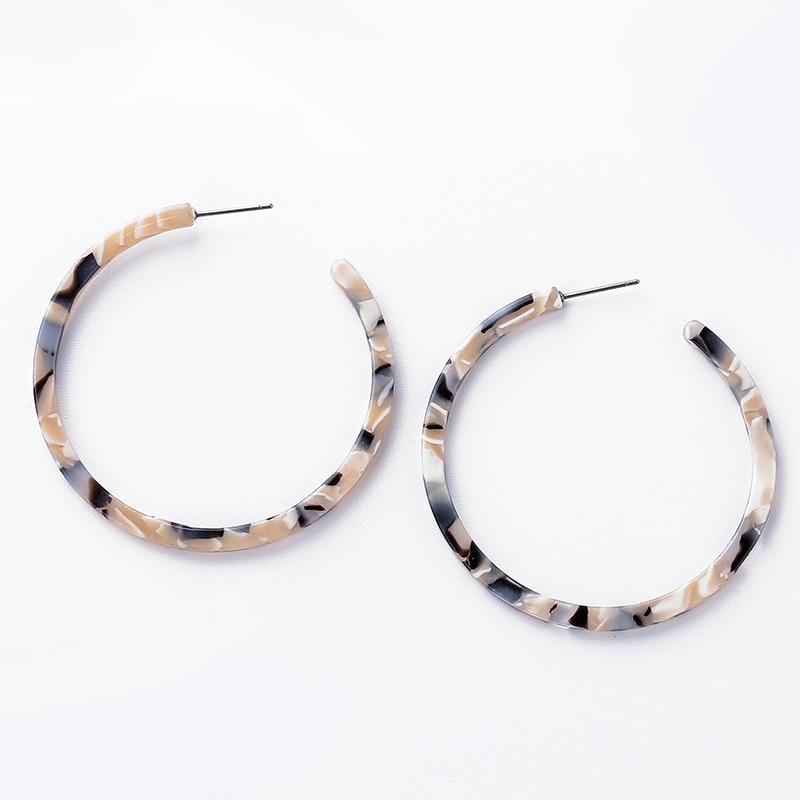 2018 Fashion Jewelry Earrings For Women Tortoiseshell Brincos Earring for Women Elegant Jewelry Eardrop oorbellen pendientes in Drop Earrings from Jewelry Accessories
