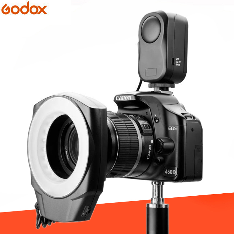 Godox RING48 Marco Ring LED Light circular LED Lamp 48PCS Power Rate Semi Power Full Power