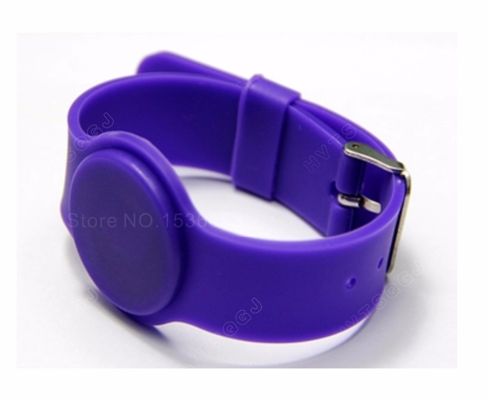 5000pcs 13 56MHz RFID Silicone Wristband ISO14443A Bracelet Waterproof NFC Classic RFID IC 1K S50 Card