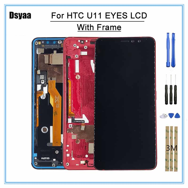 100% Tested 6.0 Inch LCD Display for HTC U11 EYES Display LCD Screen Touch Digitizer Assembly for HTC U11 EYES100% Tested 6.0 Inch LCD Display for HTC U11 EYES Display LCD Screen Touch Digitizer Assembly for HTC U11 EYES