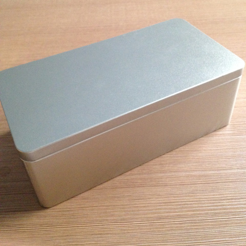 Charmant 1 PC Large Metal Tin Box Storage Box Multi Use 23.5*12*8.4CM