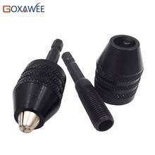 """1/4 """"Hex Vástago 0.3-6.5mm Portabrocas sin llave Destornillador de Impacto Adaptador Diámetro Brocas Herramientas Eléctricas para trabajar el metal"""