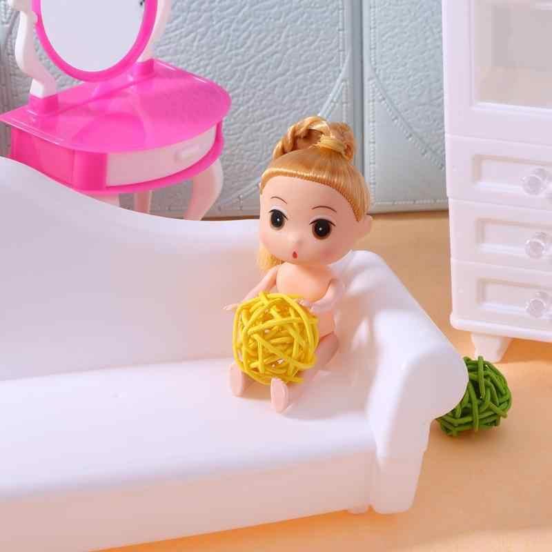 12 см подвижные соединения для Barbi пластиковая принцесса выпечки торт кукла, игрушка тело обнаженное тело для кукол с головой женская фигура