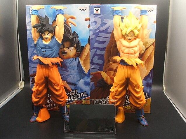 Banpresto Dragon Ball Z фигурку Сын Gokou Genki damaspirit бомба рисунок специальные Dragon Ball Гоку модель игрушка figuras dbz гоку