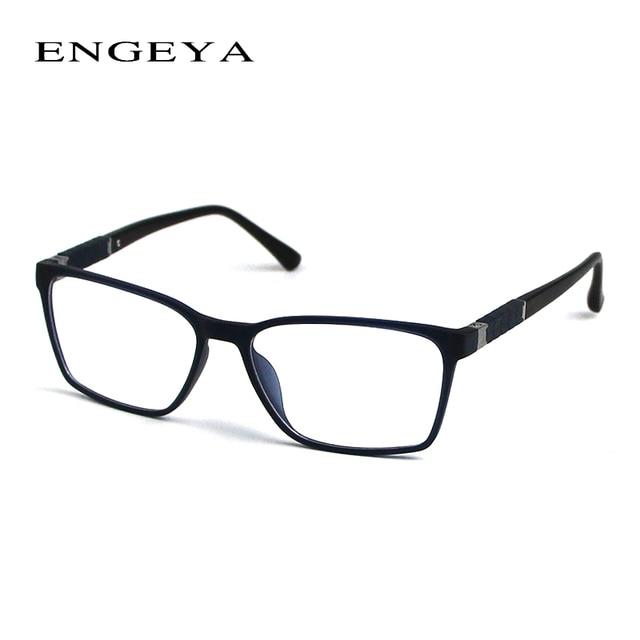 ENGEYA Brand TR90 Retro Optical Eyeglasses Frame Myopia Eyewear Designer Eye Glasses Frames For Men 3 Matte Colors #IP2021#