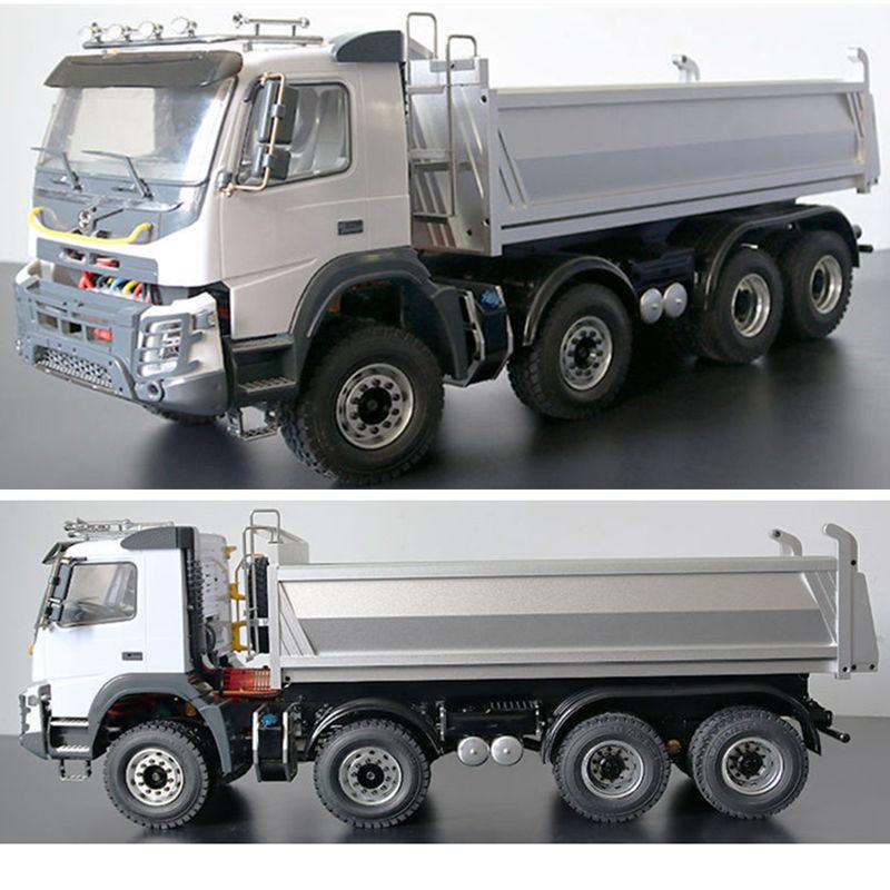 1/14 JDM-65D 8X8 RC Hydraulic Engineering Dump Truck Tractor Trailer BENZ MAN SCANIA1/14 JDM-65D 8X8 RC Hydraulic Engineering Dump Truck Tractor Trailer BENZ MAN SCANIA