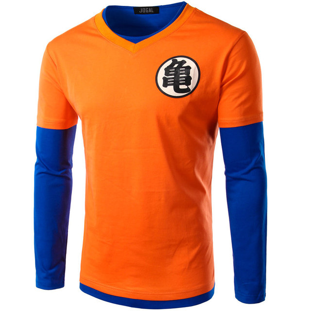 Dragon Ball Z Mens Slim Fit Cosplay 3D T Shirts