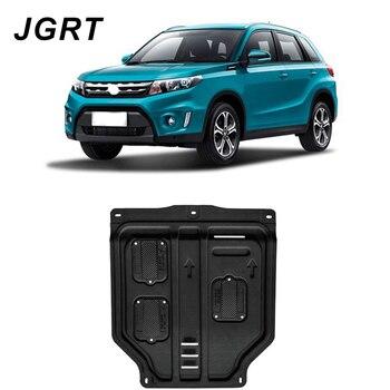 Estilo do carro Para Suzuki Vitara plástico aço guarda motor Para Vitara 2016-2018 fender placa skid Motor 1 pc