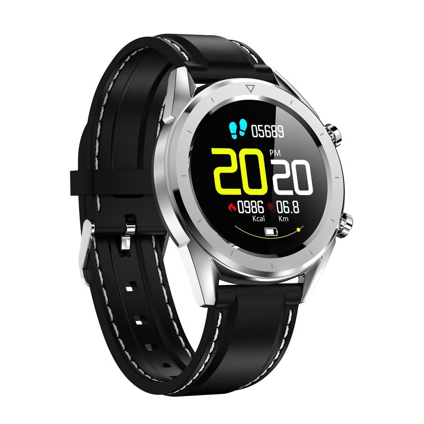 DT28 Smart Watch Waterproof Men Watch Payment ECG Heart Rate Monitor Fitness Tracker Wristband Smart Band Sport Wristwatch IP68