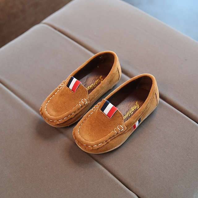 Suede Leather Loafers for Boys and Girls