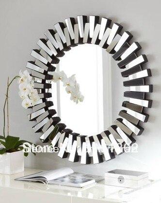 Mr 201732 Round Sunburst Wall Mirror Art