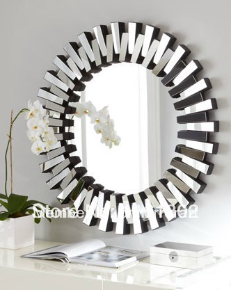 Wall Mirrors Cheap high quality round wall mirror-buy cheap round wall mirror lots