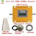 Conjunto completo 70dBi Ganancia Amplificador de Señal de Teléfono Móvil 3G GSM CDMA 850 MHz Repetidor de Señal de Teléfono Celular Amplificador de Señal con antena