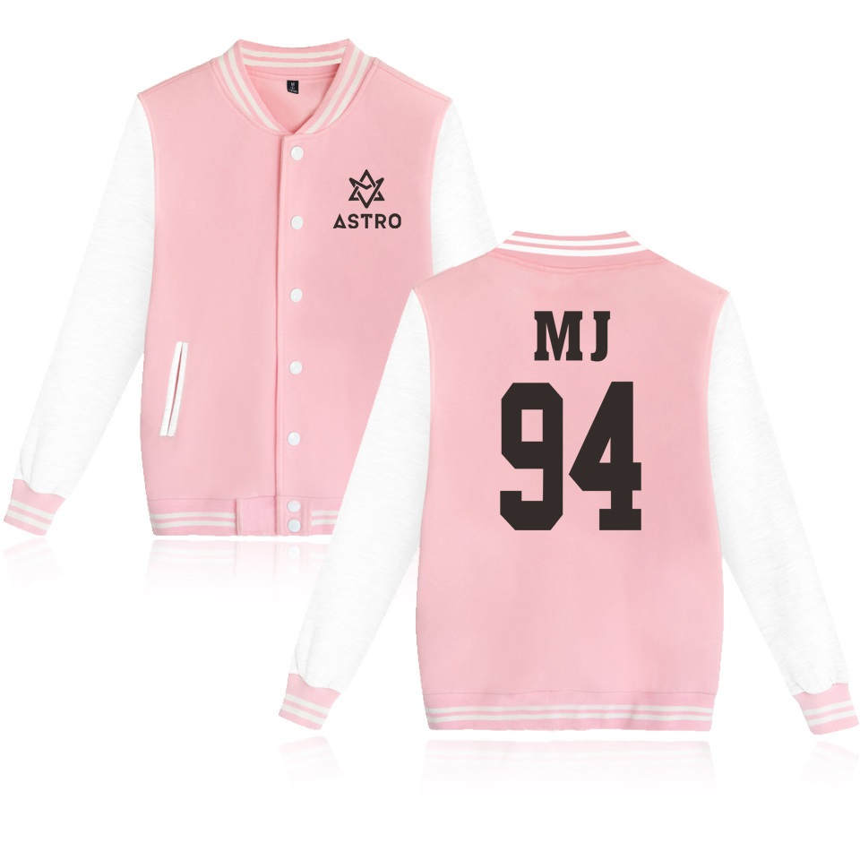 ASTRO Kpop Cool Baseball Jacket Men/Women Fashion Outwear Coats Jacket Men College Style Clothes Plus Size 4XL
