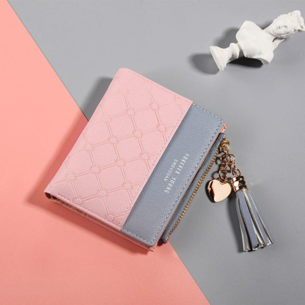 Leather Women Luxury Wallet Famous Women Credit Purses Coin Purse Mini Wallets Short Card Brand Holder Female Small Zipper used good condition mod no 503 ser no 2097014 with free dhl ems