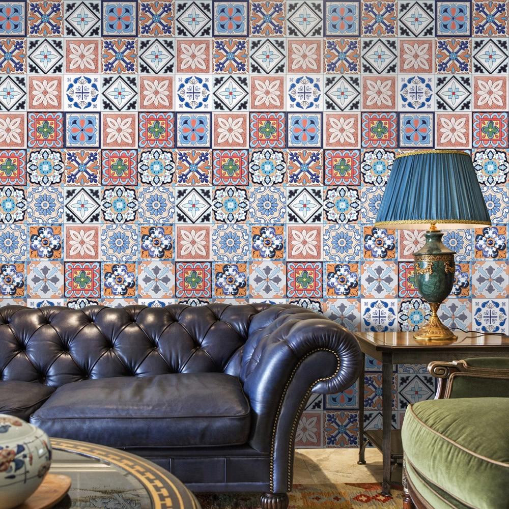 25 unids Wall sticker Decal autoadhesivo azulejo arte DIY cocina ...