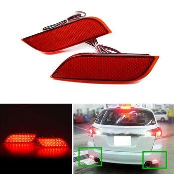 For SUBARU XV 2012-2016 2PCS Rear fog lamp Rear bumper lights Brake Highlight