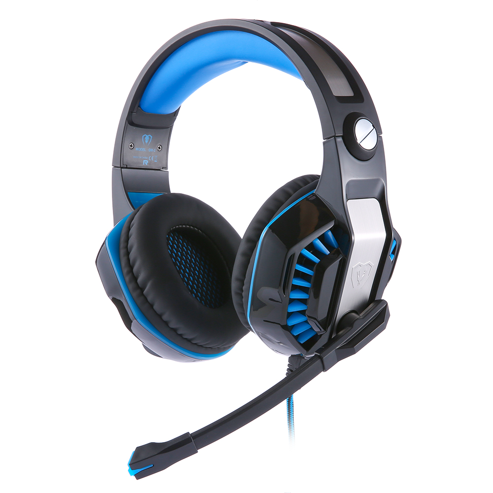 Beexcellent GM-2 Surround Sound Gaming Headset Headband Bass Game Earphone with Mic LED Light for PS4/XBOX ONE/laptop pk g2000 each g1100 shake e sports gaming mic led light headset headphone casque with 7 1 heavy bass surround sound for pc gamer