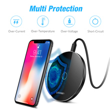 Wireless Fast Charger for iPhone,Samsung Galaxy..