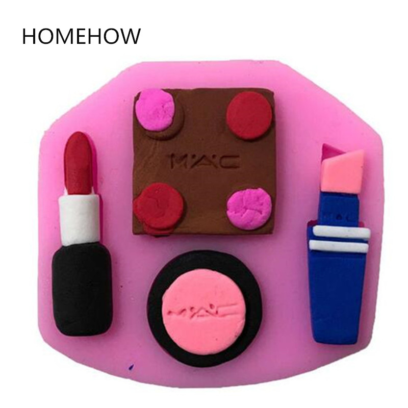 1 Stk / partij Dame Cosmetica Lipsticks Vorm Siliconen Cakevorm - Keuken, eetkamer en bar