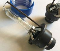 YY DLT Anti UV Fast Bright Fast Start HID Xenon 55W Bulb HID Lamp Light Replacement
