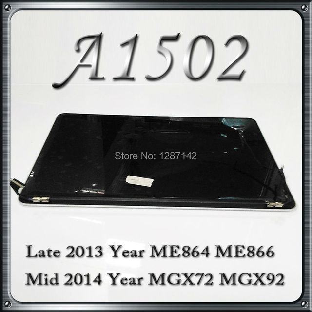 "NEW Genuine A1502 Full LCD Screen Display Assembly For Apple MacBook Pro Retina 13"" ME864 ME866 MGX72 MGX92 Late 2013 Mid 2014"