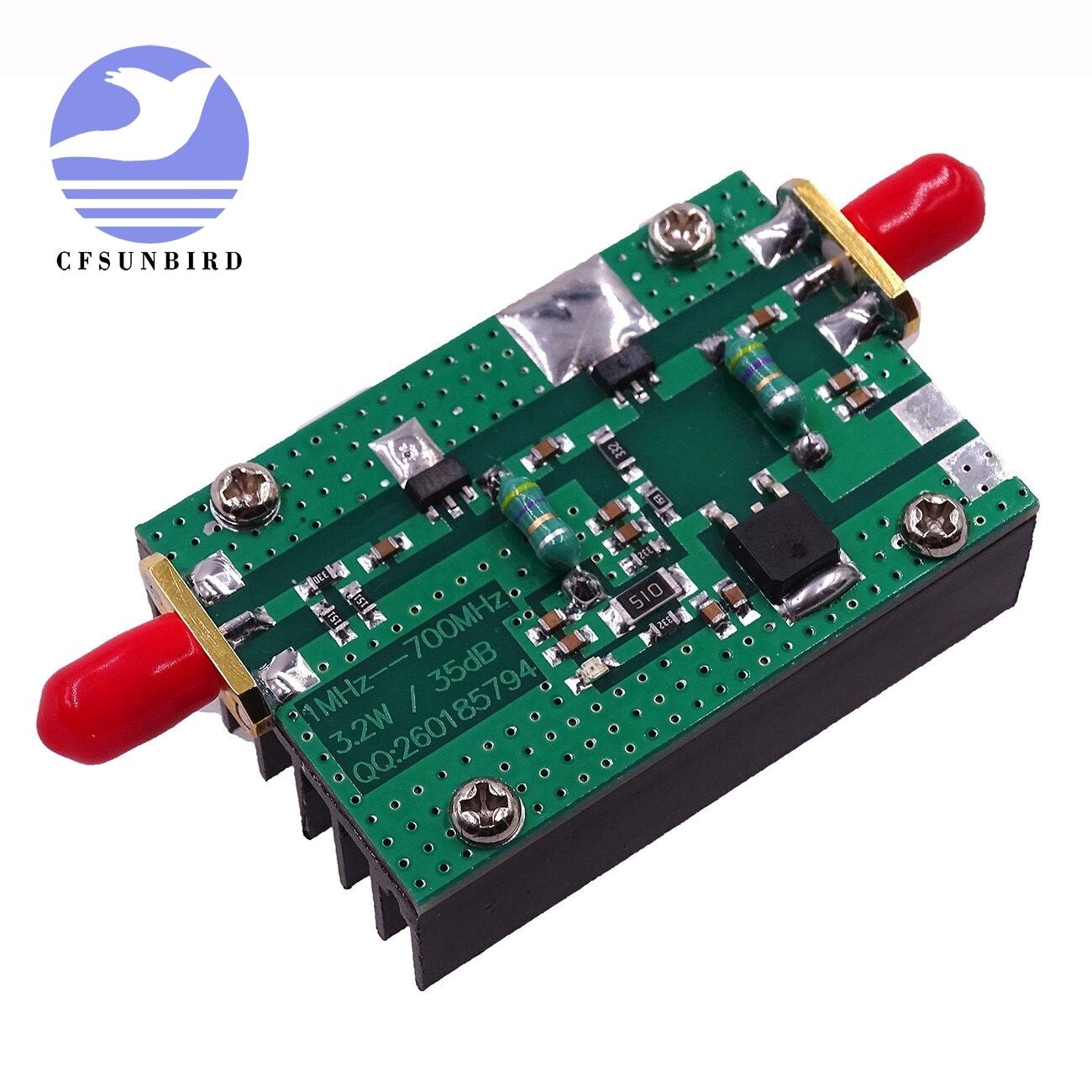 1mhz 500 Mhz 15 W Amplifier Hf Fm Vhf Uhf Rf Power In 5 Watt Tv Cfsunbird 1pcs New Arrival 700mhz 32w Transmitter