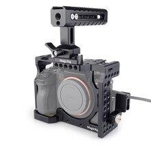 MAGICRIG DSLR клетки для камеры с ручка NATO + HDMI кабель зажим sony A7RIII/A7RII/A7II/A7III/A7SII рама для DSLR удлинитель комплект