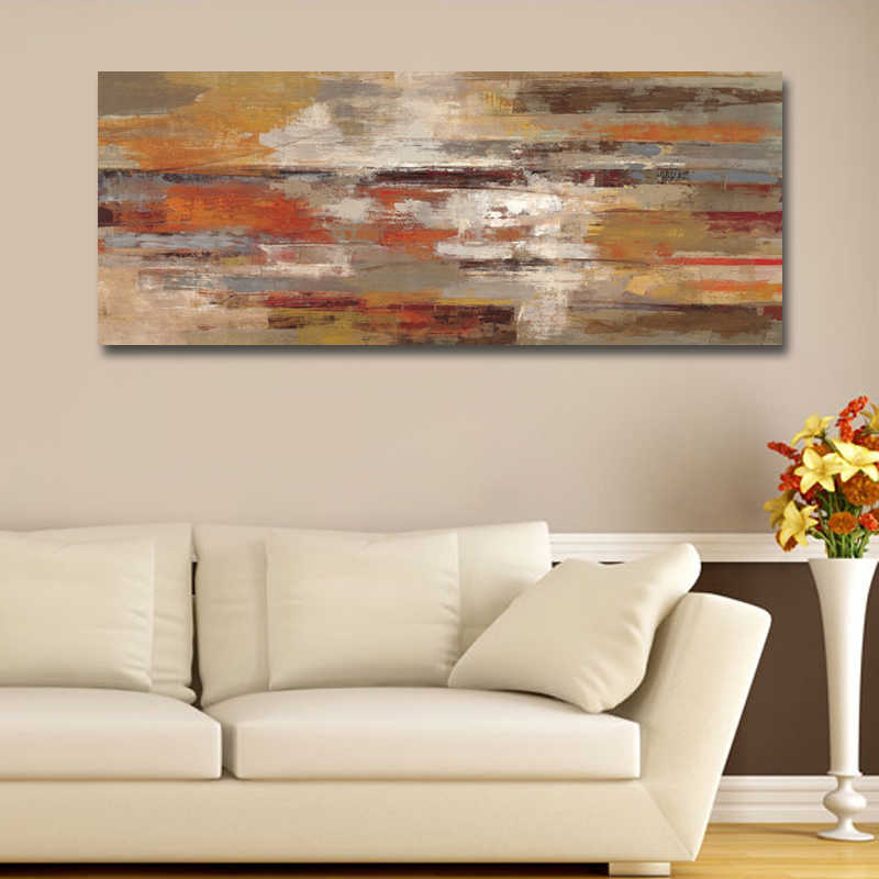 Modern Abstract American Style Canvas Print Painting Picture Poster And Prints For Living Room Home Decoration Wall Art No Frame