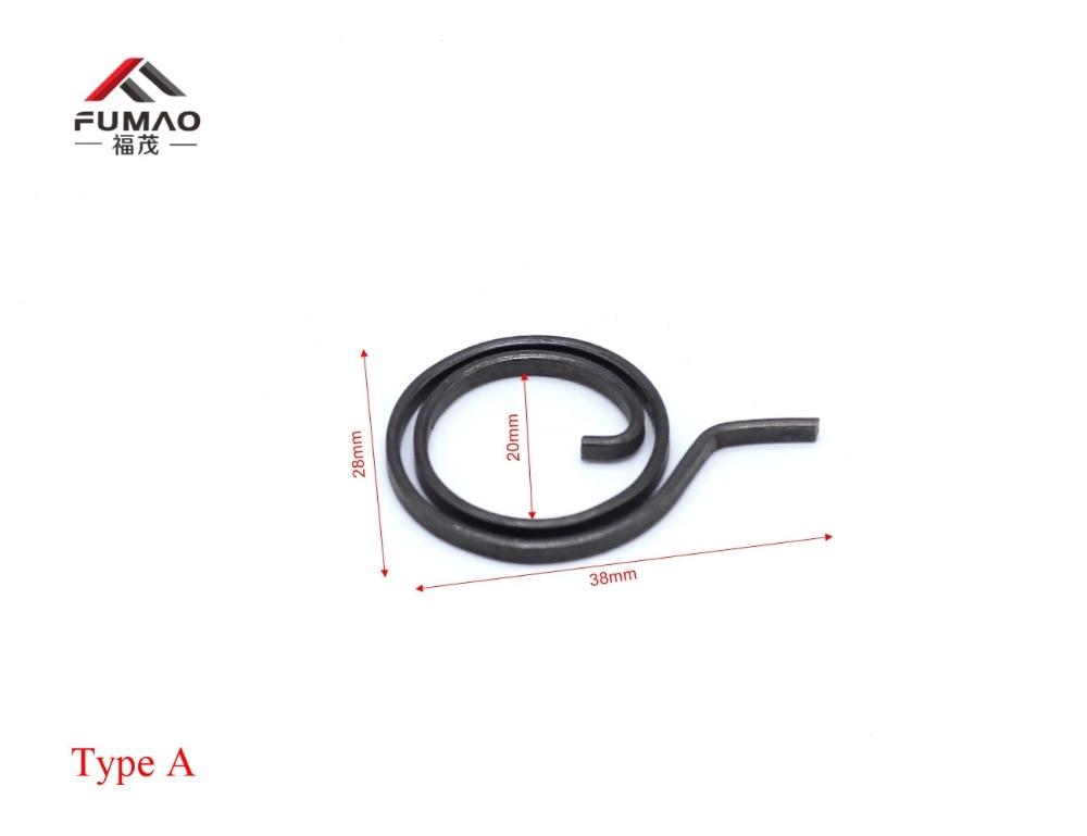 28 мм Плоская проволочная дверная ручка пружинная катушка для двери а|Пружины|   | АлиЭкспресс