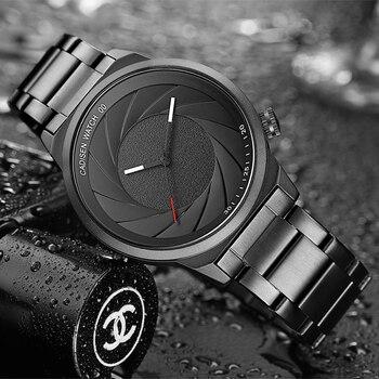 CADISEN Rubber Strap Luxury Brand Women Men Unisex Waterproof Fashion Casual Wristwatches Quartz Unique Creative Sports Watches 2