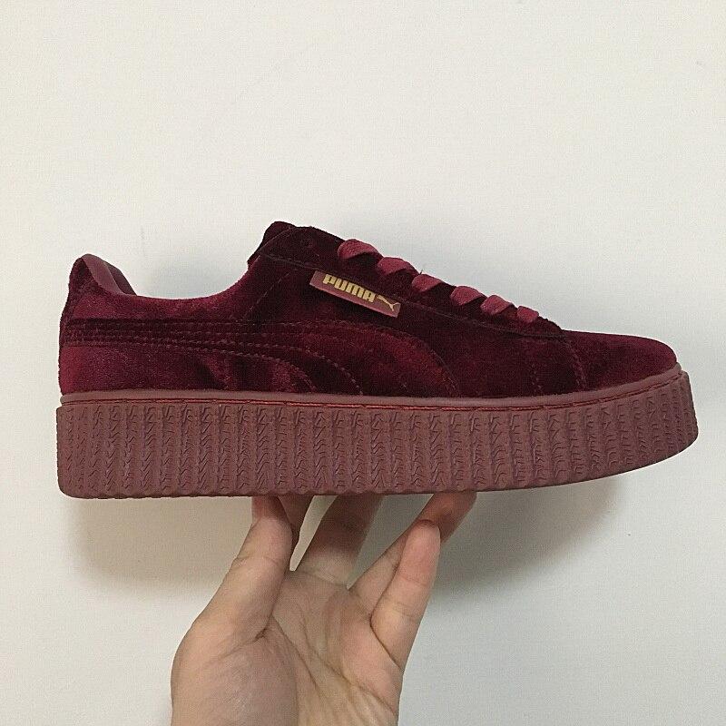 PUMA Creeper Velvet (Puma BlackPuma Black) Women's Shoes