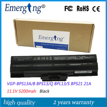 11.1V New Quality Laptop Battery for SONY VGP-BPS13/S BPS13A/B VGP-BPS13A/Q VGP-BPL13 TX57CN