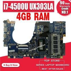 UX303LA płyta główna REV2.0 I7 U dla ASUS UX303LN UX303 UX303L UX303LNB laptopa płyty głównej płyta główna w UX303LA płyty głównej płyta główna UX303LA płyta główna|laptop motherboard|i7 cpumotherboard motherboard -