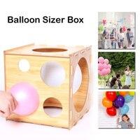 Holes Balloon Box Measurement Equipment Supplies Birthday Wedding Parties Decoration 12 inch Measuring