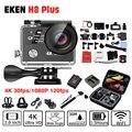 "2017 Hot,Origina EKEN H8 Plus Sport Action camera 4K / 30fps WiFi 2.0"" 170D Helmet Camera Go Underwater waterproof H8 pro style"