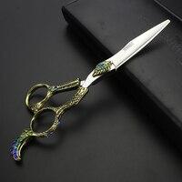 6 inch kéo cắt tóc chuyên nghiệp cắt tóc tool túi tóc cắt cho thợ làm làm cho trùm đầu tiệm hớt tóc công c