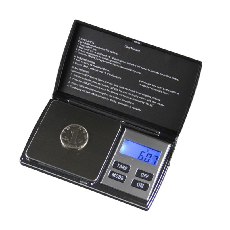 500g x 0 01g Digital Precision Scales for Gold Bijoux Jewelry Scale 0 01 Pocket Balance