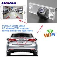 LiisLee car wireless rearview camera for kia Sephia Spectra Sephia5 cerato LD 2003~2008 backup Camera License Plate camera