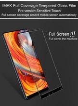 Mi Mix 2 Glas Film iMAK PRO+ Full curved Tempered Glass Protective Film For Xiaomi Mi Mix 2 Glass Screen Protector