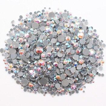Διακοσμητικές χάντρες 2500pcs mix size crystalab