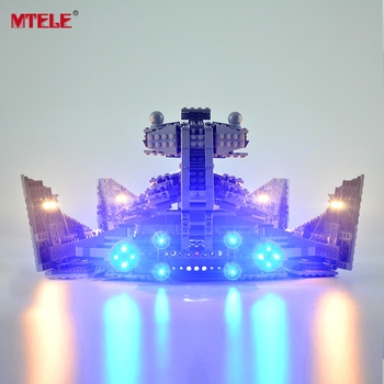 MTELE Led Light Kit For Star war Imperial Star Destroyer Light Set Compatible With 75055 (NOT Include The Model) lepin 05062 1359pcs series the imperial super star destroyer set building blocks bricks compatible with 75055 boy toy