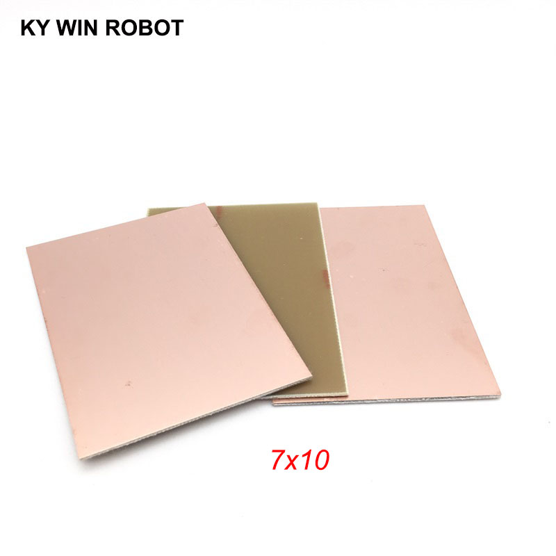 Methodical 2pcs Fr4 Pcb 7x10cm 7*10 Single Side Copper Clad Plate Diy Pcb Kit Laminate Circuit Board Passive Components