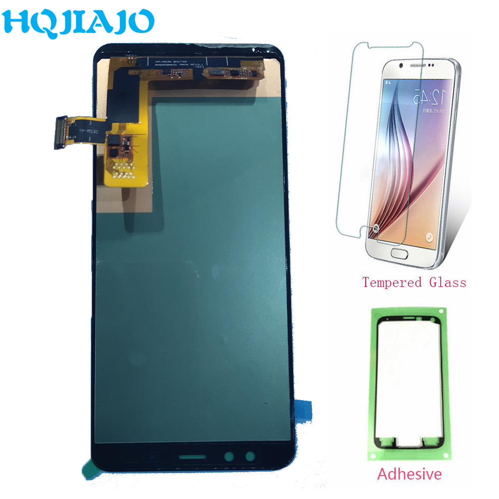 High end TFT LCD Voor Samsung Galaxy A8 2018 A530 Touch Screen Digitizer + LCD Display Voor Samsung A8 a530 A530F A530F/DS-in LCD's voor mobiele telefoons van Mobiele telefoons & telecommunicatie op AliExpress - 11.11_Dubbel 11Vrijgezellendag 1