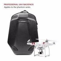 DJI Phantom3/4 Backpack Hard Shell Case Villepipes 3/4 Carbon Fiber Backpack Shockprooof Box for DJI Phantom 3/4 Accessories