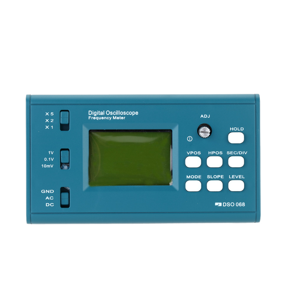 LCD Digital Storage Oscilloscope/Frequency Meter DIY Kit with Professional BNC Probe USB Interface DSO 20MSa/s 3MHz цена и фото