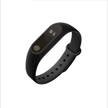 New M2 Bluetooth Smart Bracelet Waterproof IP67 Message Call Reminder Wristband with high sensitivity touch for