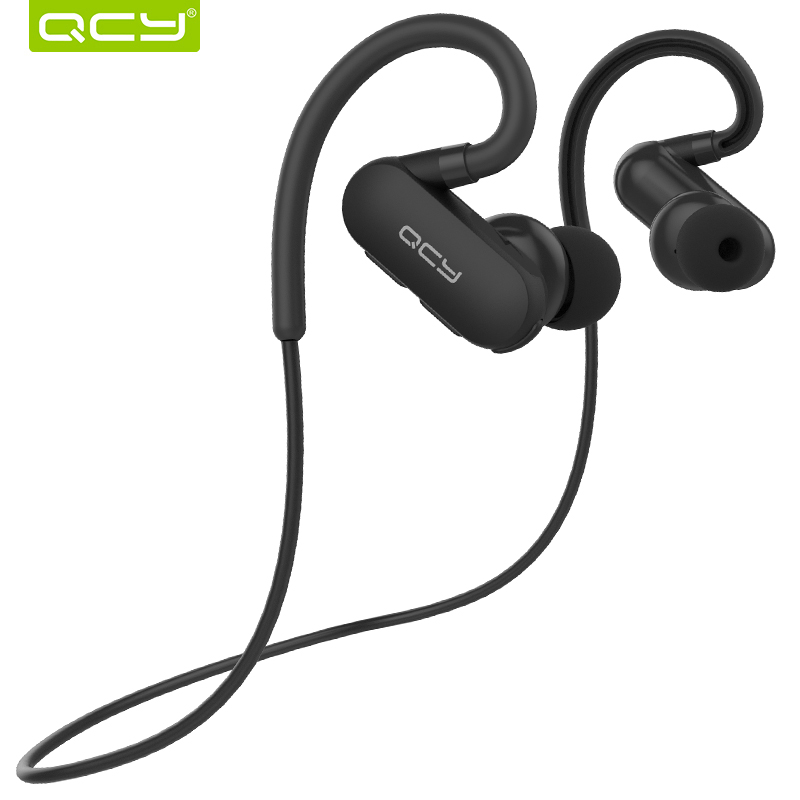 QCY QY31 IPX4 sweatproof headphones Bluetooth 4.1 wireless sports headset aptx stereo earphones with MIC for iphone android new fashion sweatproof wireless bluetooth v4 0 sports stereo headphones with mic ear hook earbuds earphones for iphone for sony