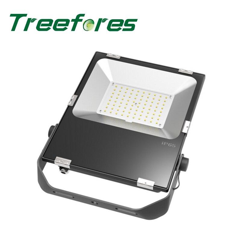 80W IP65 Slim Led Floodlight 80 Watts LED Flood Light for Garden Outdoor Landscape Lighting CE UL TUV SAA