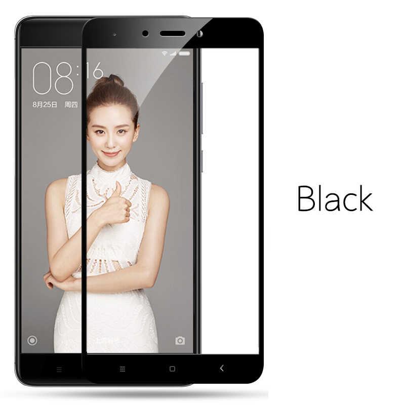 Полностью покрывающее закаленное Стекло на чехол для Xiaomi Redmi 5 Plus S2 4X 5A Redmi Note 4X4X5 5A Pro Экран защитная плёнка для НУА Вэй чехол
